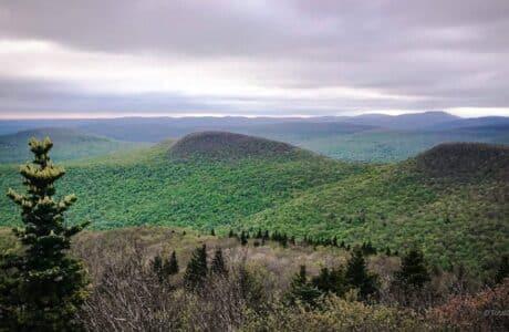 scenic view mountain summits