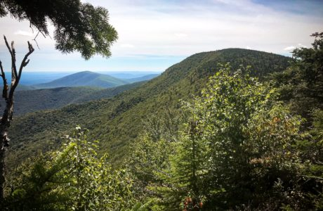 View of Balsam Cap from Friday Mountain