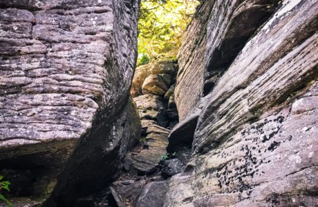 Behind the Cave on Twin