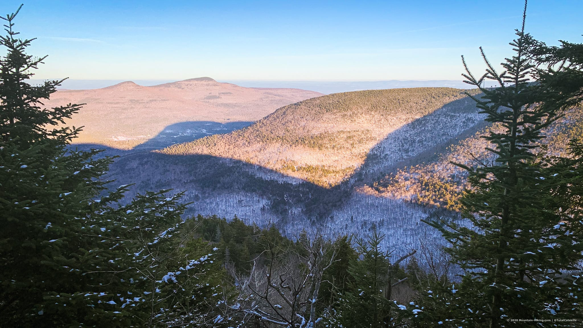 View from lookout on Plateau