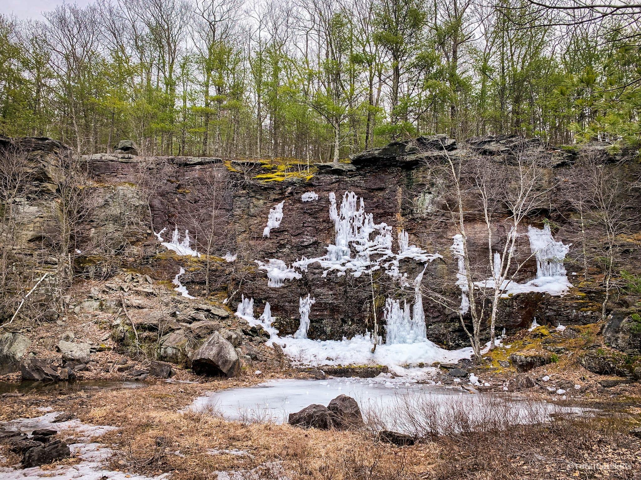quarry, ice