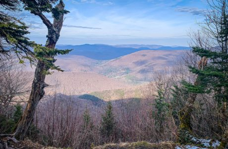 catskill mountain view from overlook