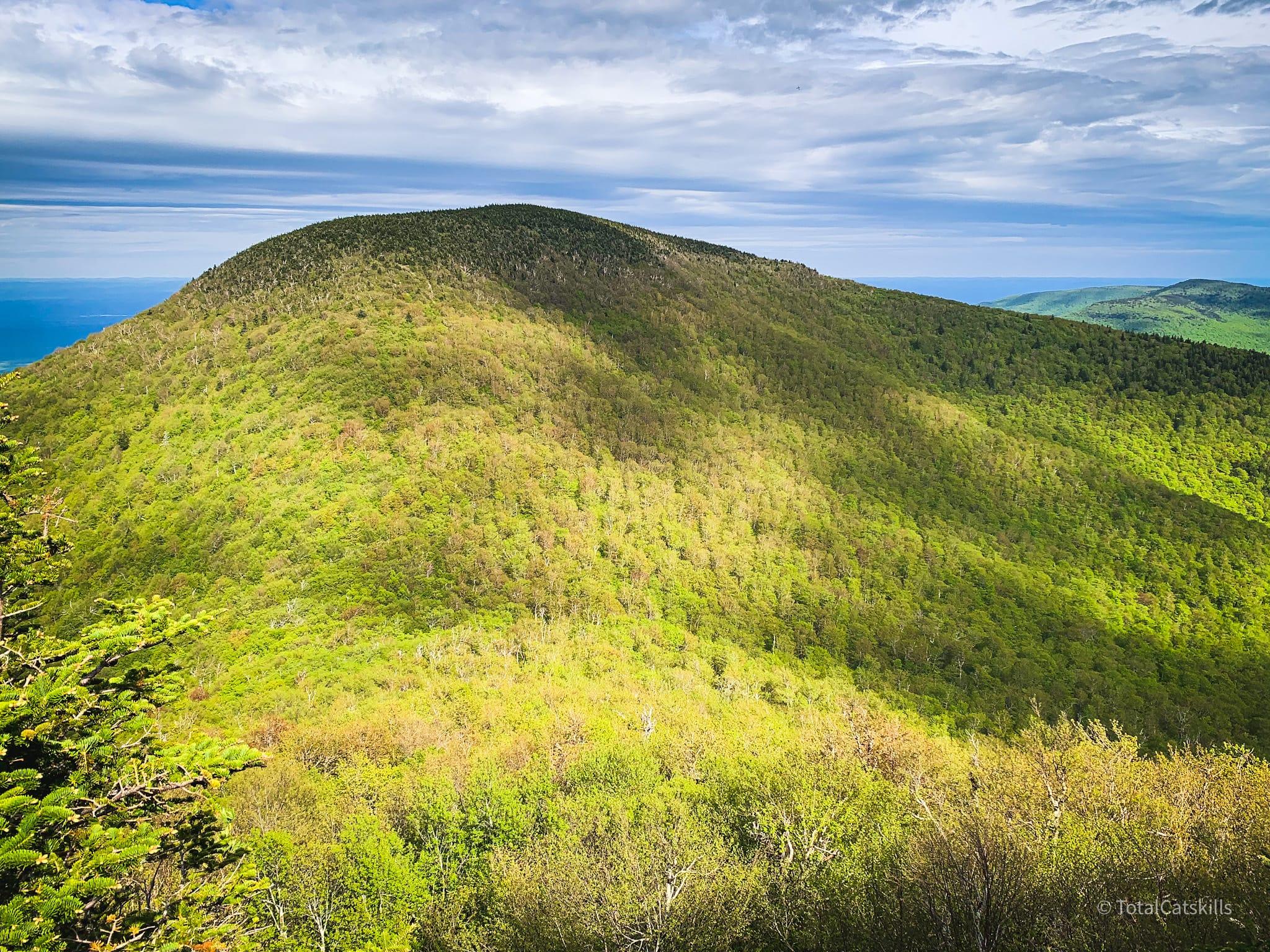 scenice view of Blackhead Mountain