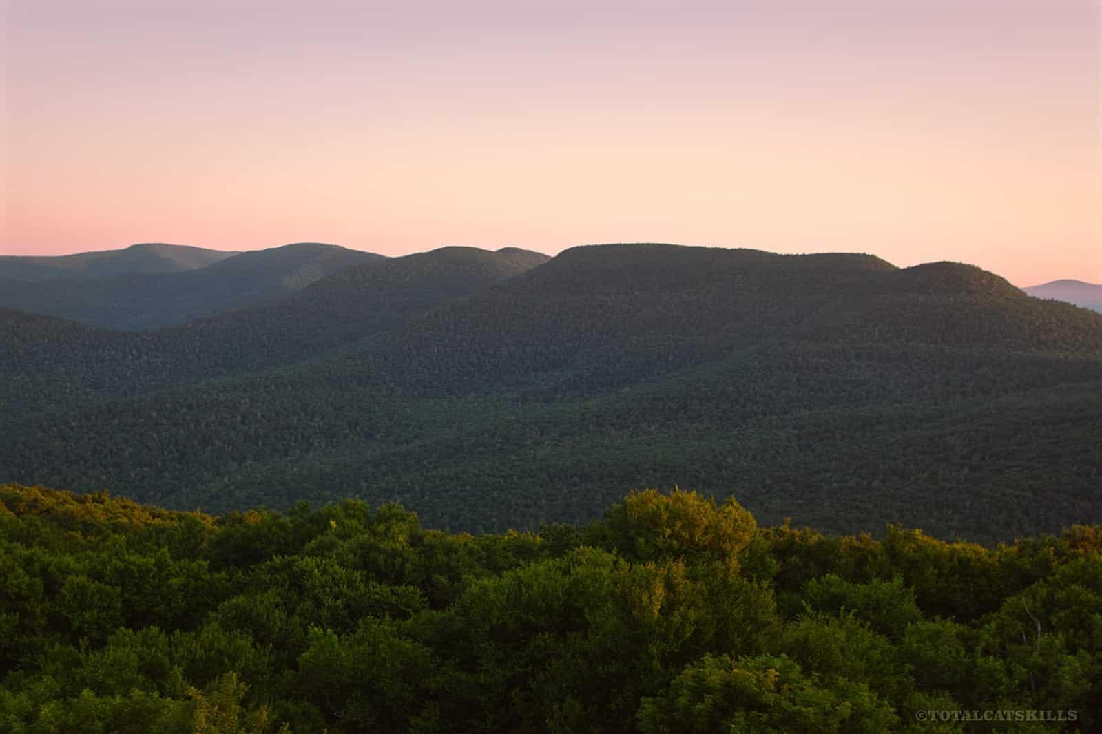 mountain scenic view