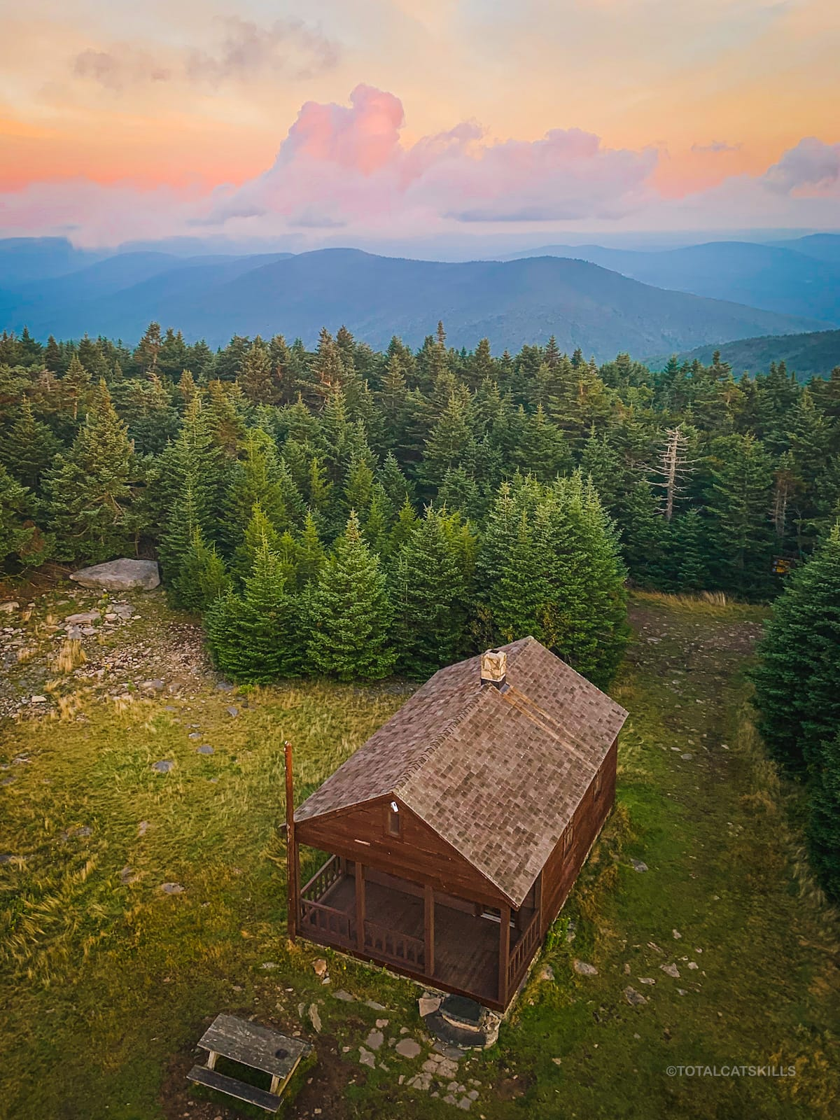 fire tower cabin