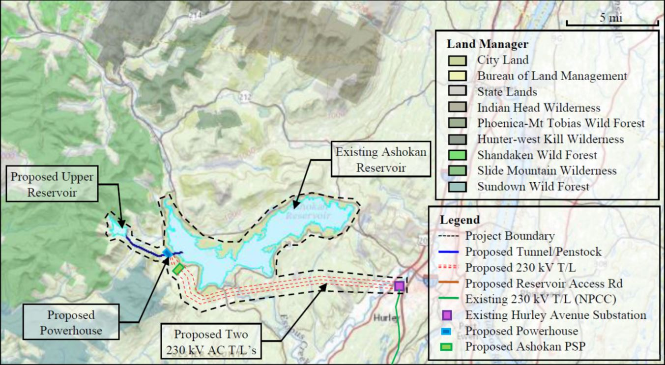 map of planned project